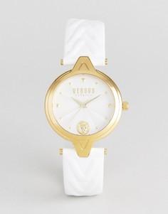 Часы с белым кожаным ремешком Versus Versace SCI21 V - Белый