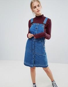 Джинсовое платье-комбинезон Pepe Jeans Cathy - Синий