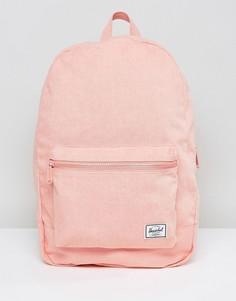 Хлопковый рюкзак Herschel Supply Co Daypack - Черный