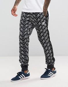 Черные джоггеры adidas Originals Superstar Soccer BS4662 - Черный