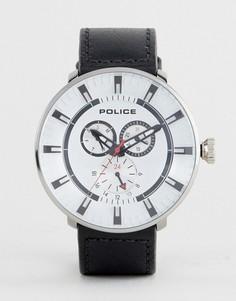Черные часы Police League - Черный