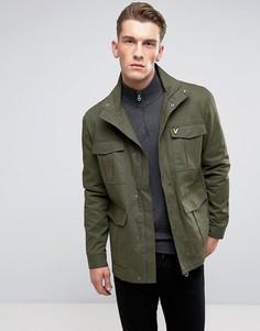 Куртка цвета хаки Lyle & Scott - Зеленый
