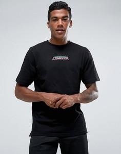 Черная футболка с принтом Jaded London - Черный