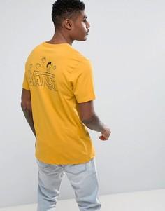 Желтая классическая футболка с принтом Снупи Vans X Peanuts VA36LB50X - Желтый