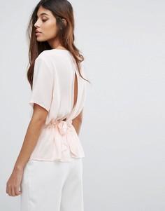 Блузка Selected - Розовый