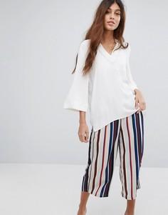 Оверсайз-блузка Selected - Белый