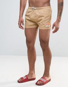 Коричневые шорты для плавания Ellesse - Коричневый