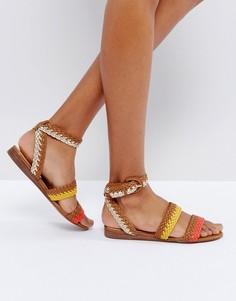 Плетеные сандалии ALDO Arionna - Рыжий