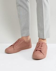 Розовые кроссовки на шнуровке ASOS - Розовый