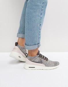 Серые кроссовки Nike Air Max Thea Ultra Flyknit - Серый