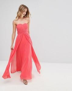 Платье Y.A.S Molly - Розовый