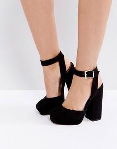 Туфли на платформе ASOS PINATA - Черный