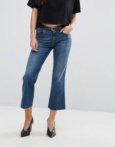 Укороченные расклешенные джинсы Diesel Sandy - Синий