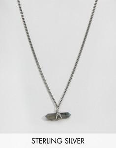 Ожерелье с подвеской Regal Rose Apothecary - Серебряный