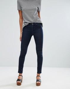 Облегающие джинсы с завышенной талией M.i.h Jeans - Синий