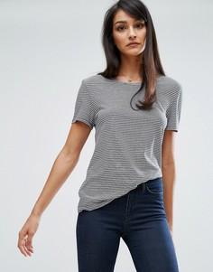 Мягкая футболка в полоску в стиле ретро M.i.h Jeans - Синий