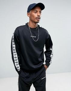 Черный свитшот с круглым вырезом adidas Originals Adicolor TNT BR6748 - Черный