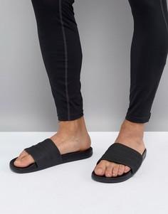 Черные шлепанцы adidas Adilette CF+ S82137 - Черный