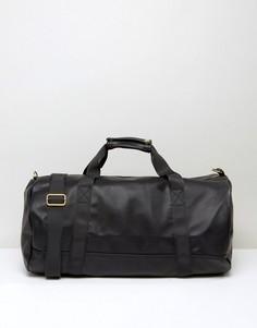 Черная сумка из искусственной кожи Mi-Pac - Черный