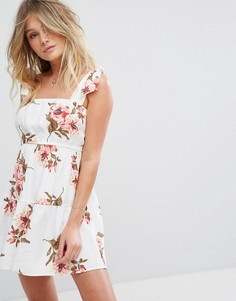 Платье мини с цветочным принтом Flynn Skye Maria - Мульти