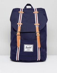Темно-синий рюкзак объемом 19,5 литра Herschel Supply Co. Retreat - Темно-синий