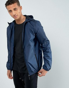 Куртка с капюшоном на молнии Loyalty and Faith - Темно-синий