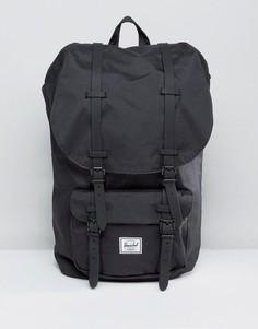 Черный рюкзак Herschel Supply Co Little America 25L - Черный