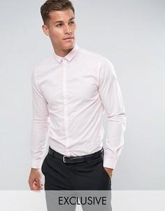 Приталенная рубашка Noak - Розовый