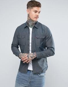 Темная рубашка из шамбре Levis - Синий Levis®