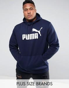 Темно-синий пуловер Puma PLUS ESS No.1 83825706 - Темно-синий
