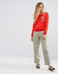 Свободные брюки Vila - Зеленый