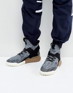 Черные кроссовки adidas Originals Tubular X Primeknit BY3145 - Черный