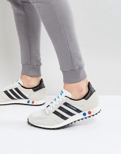 Бежевые кроссовки adidas Originals LA Trainers BY9322 - Бежевый