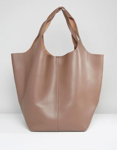 Большая сумка Glamorous - Бежевый