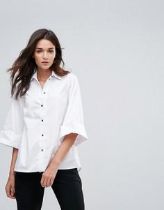 Рубашка с широкими рукавами Closet - Белый