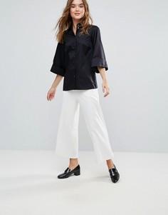 Широкие брюки Closet - Белый