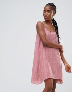 Платье на бретельках Bellfield Senna - Розовый