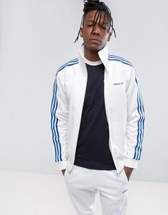 Белая куртка adidas Originals Osaka Beckenbauer CV8956 - Белый