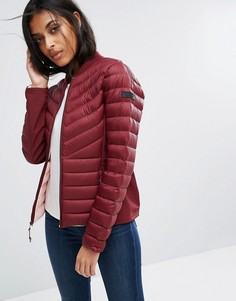 Дутая куртка Hollister - Красный