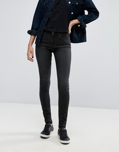 Облегающие джинсы Pieces Five Abby - Синий