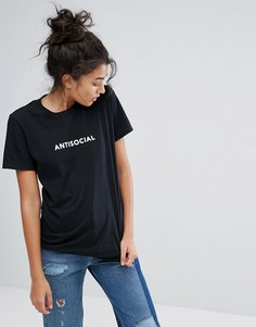 Футболка Adolescent Clothing Antisocial - Черный