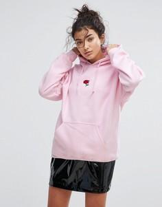 Худи с декоративной отделкой Adolescent Clothing - Розовый