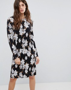 Платье с цветочным принтом Pieces Julie - Мульти
