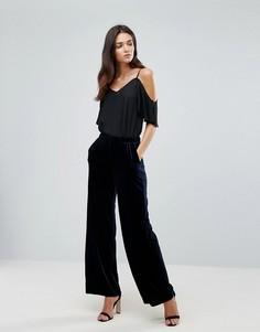Свободные брюки Vila - Темно-синий