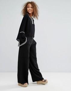 Широкие брюки Oeuvre - Черный