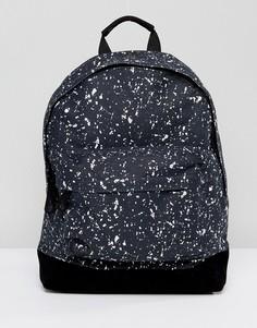 Рюкзак с принтом брызги Mi-Pac - Черный