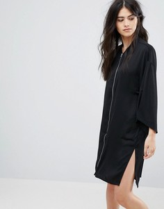 Платье на молнии Vilа - Черный Vila
