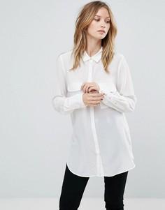 Шелковая рубашка Gestuz Vega - Белый