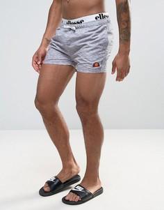 Серые шорты для плавания с эластичным поясом Ellesse - Серый