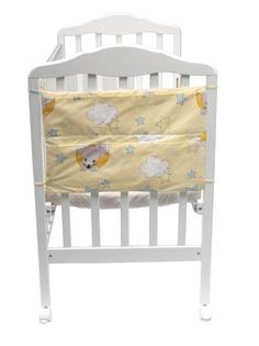Карманы на детскую кроватку Сонный гномик